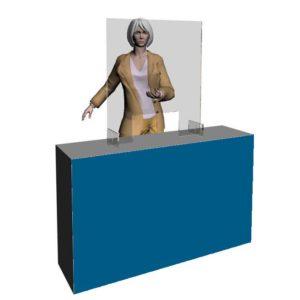 Beskyttelsesskærm i akryl